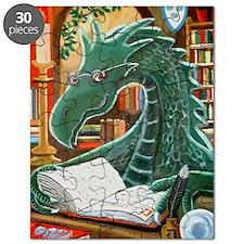 Library Dragon Puzzle
