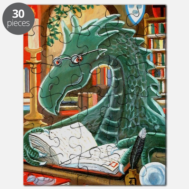 Library Dragon Puzzle