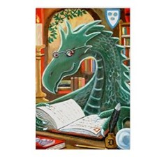 Library Dragon Postcards (Package of 8)