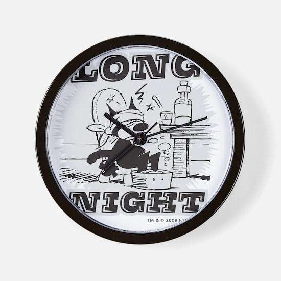 4-longnight Wall Clock