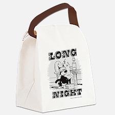 4-longnight Canvas Lunch Bag