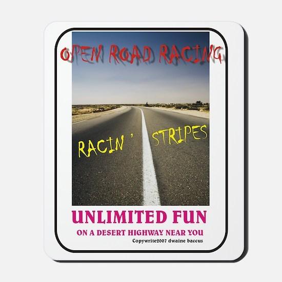 ORR Racin' Stripes Mousepad