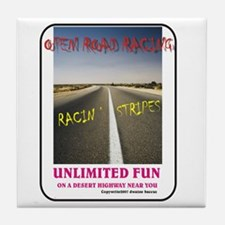 ORR Racin' Stripes Tile Coaster
