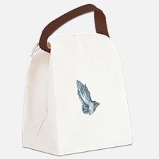 GrapplersPrayerBack Canvas Lunch Bag