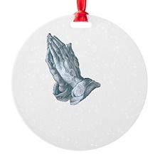 GrapplersPrayerBack Ornament