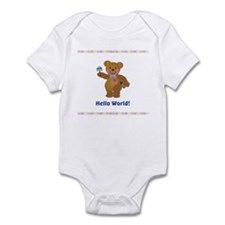 Hello World Baby Bears Infant Bodysuit