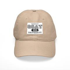 Goat University Baseball Cap