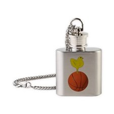aaabasBasketball_large Flask Necklace