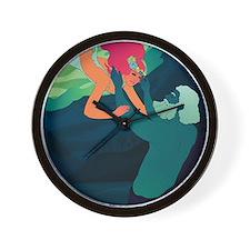 Persephone and Hades Wall Clock