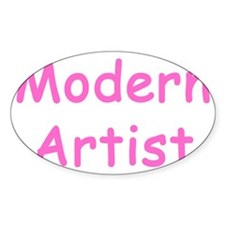 ModerArtistGirl Decal