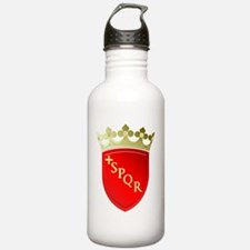 rome-coat-of-arms-t-sh Water Bottle