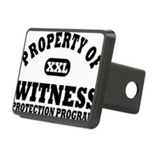 Property of Witness Protec Hitch Cover
