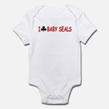 """I Club Baby Seals"" Infant Bodysuit"