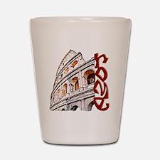 rome-coliseum-t-shirt Shot Glass