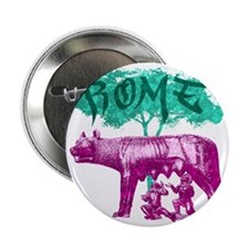 "rome-remus-romulus-t-shirt 2.25"" Button"