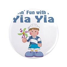"""fun with yia yia 3.5"""" Button"""