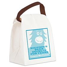 2-Bigfoot Canvas Lunch Bag