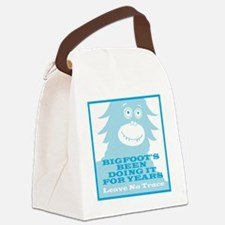 2-Bigfoot Canvas Lunch Bag