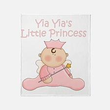 yia yias little princess Throw Blanket
