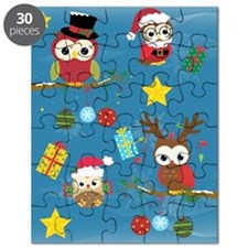 Christmas Owls Puzzle