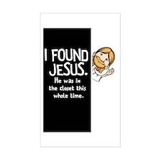 I-found-Jesus-dark Decal