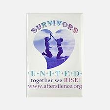 Survivors United Rectangle Magnet