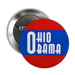 Ohio Obama Progressive Political Button