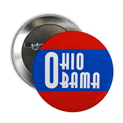 Ohio Obama Progressive Political Button