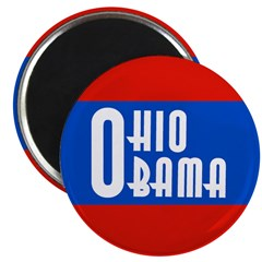 Ohio Obama Magnet for 2008 election