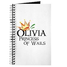 Olivia Princess of Wails Journal