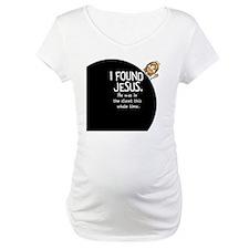 I-found-Jesus-BUTTONsmall Shirt