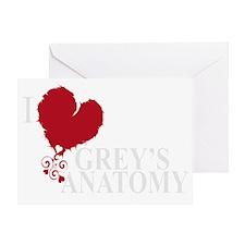 i love greys anatomy2 Greeting Card