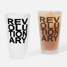 REV BLACK Drinking Glass