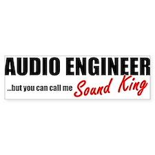Sound King Bumper Bumper Sticker