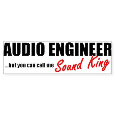 Sound King Bumper Sticker