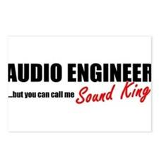 Sound King Postcards (Package of 8)