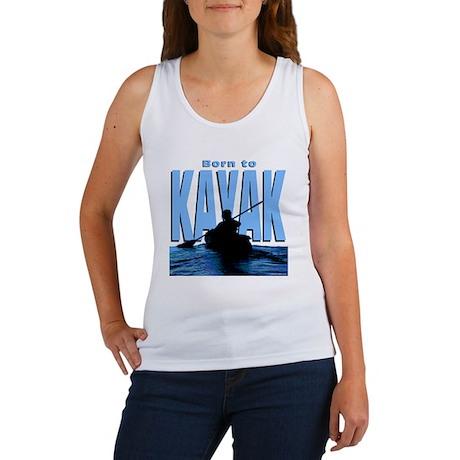 born-kayak-dk Women's Tank Top