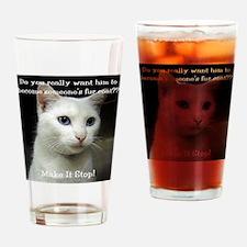 2-SnowB Drinking Glass