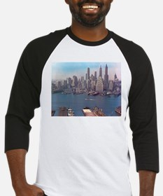 New York City Skyline 1948 Baseball Jersey