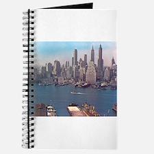 New York City Skyline 1948 Journal
