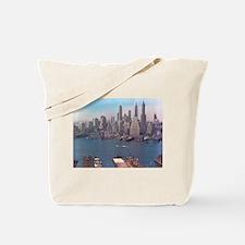 New York City Skyline 1948 Tote Bag
