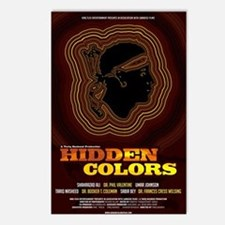 24x36_hiddencolorsposter Postcards (Package of 8)