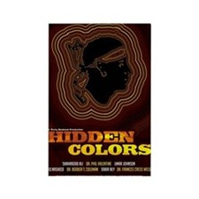24x36_hiddencolorsposter Rectangle Magnet