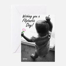 fliptastic2 Greeting Card