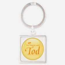 nowfriends Square Keychain