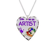 02-yes-im-an-artist-brush-n-p Necklace