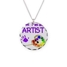 02-yes-im-an-artist-brush-n- Necklace