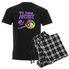 02-yes-im-an-artist-brush-n-pa Pajamas