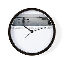 no-question-dk Wall Clock