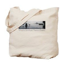 no-question-dk Tote Bag